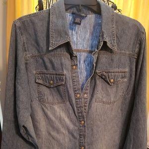 Women's Lane Bryant Vintage Jean Shirt